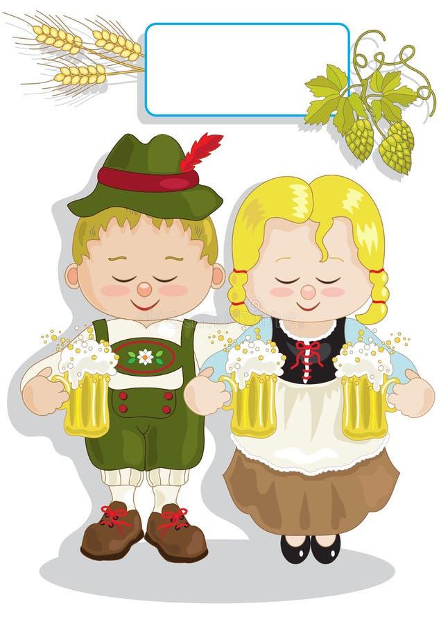 Download Oktoberfest stock vector. Illustration of drink, banner - 39503724
