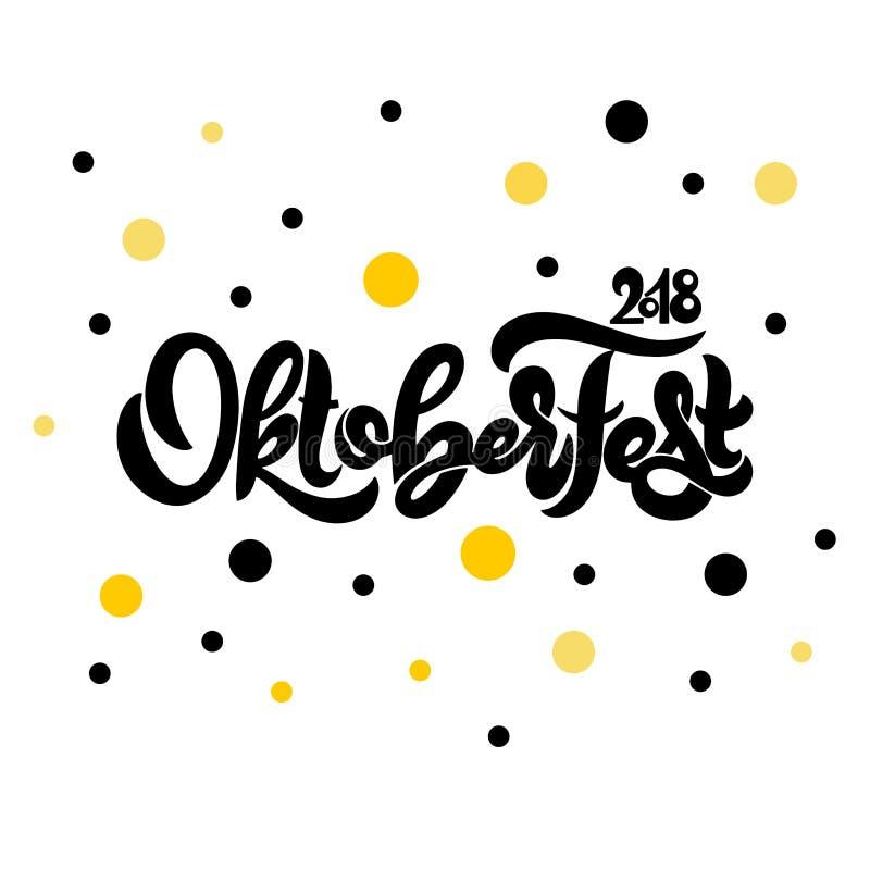 Oktoberfest vector logotype. Beer festival banner. Vector illustration. Oktoberfest logotype. Beer festival banner. Vector illustration of Bavarian festival vector illustration