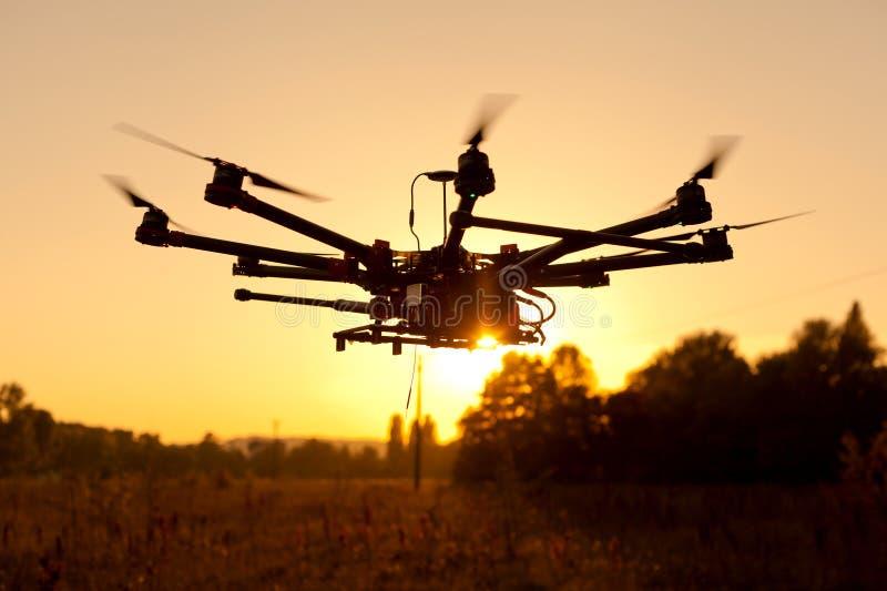 Oktokopter, copter, drone royalty free stock photography