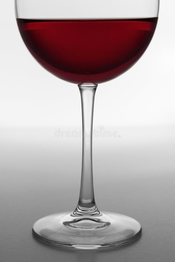okulary 4 czerwone wino obraz stock