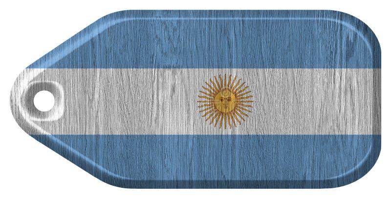 okulary argentina stylu do wektora bandery ilustracji