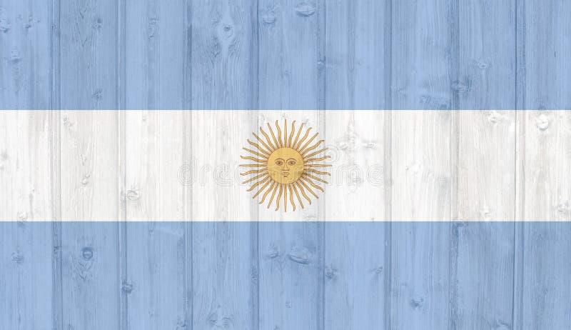 okulary argentina stylu do wektora bandery royalty ilustracja