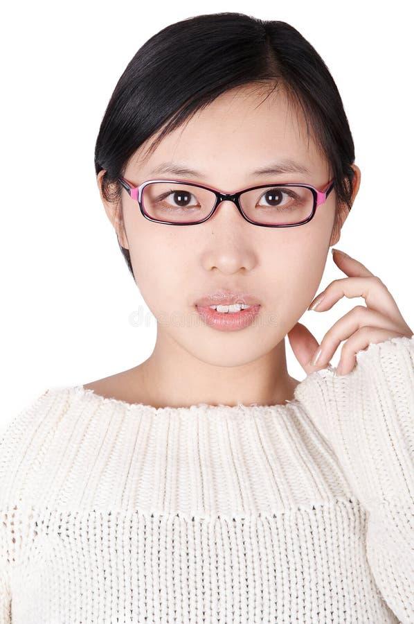 okulary dziewczyn zdjęcia royalty free
