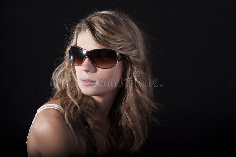 okulary przeciwsłoneczne ładne kobiety obrazy stock