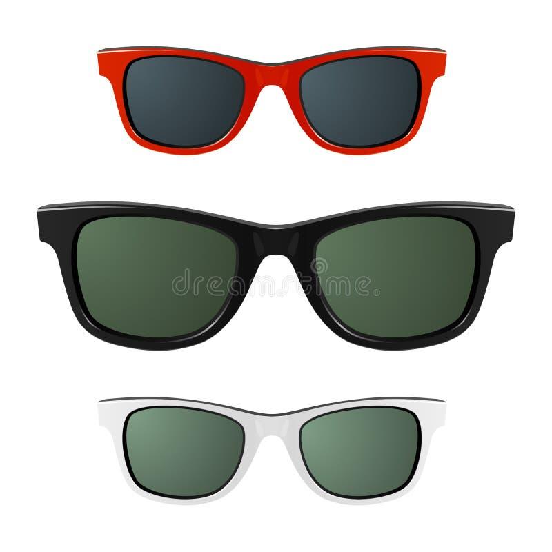 okulary przeciwsłoneczne ilustracja wektor