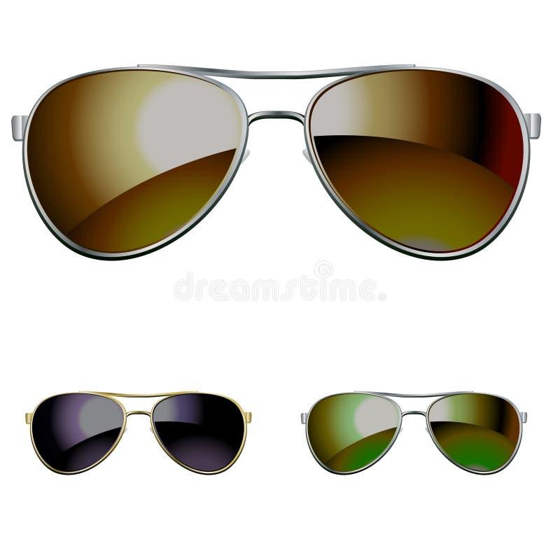okulary przeciwsłoneczne royalty ilustracja