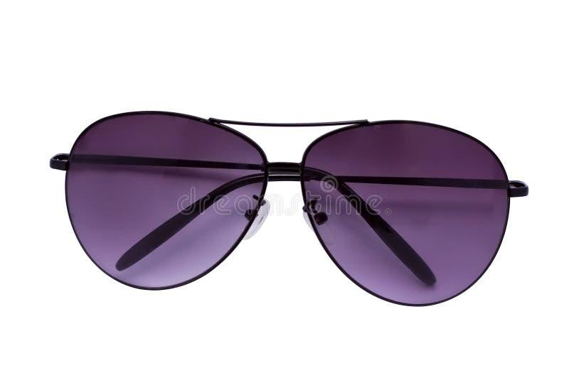 okulary przeciwsłoneczne fiołkowi zdjęcia stock