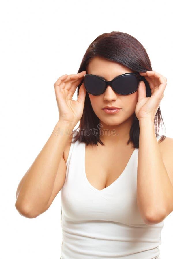 okulary przeciwsłoneczne kobieta fotografia royalty free