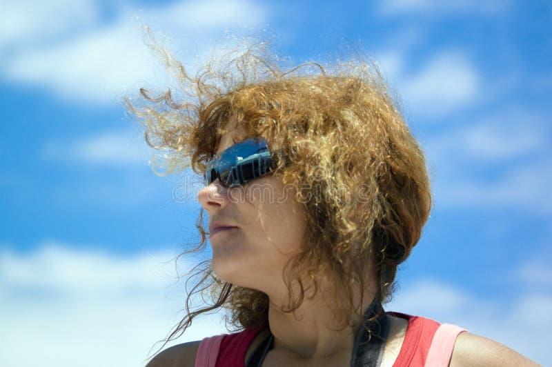 okulary przeciwsłoneczne kobieta obraz stock