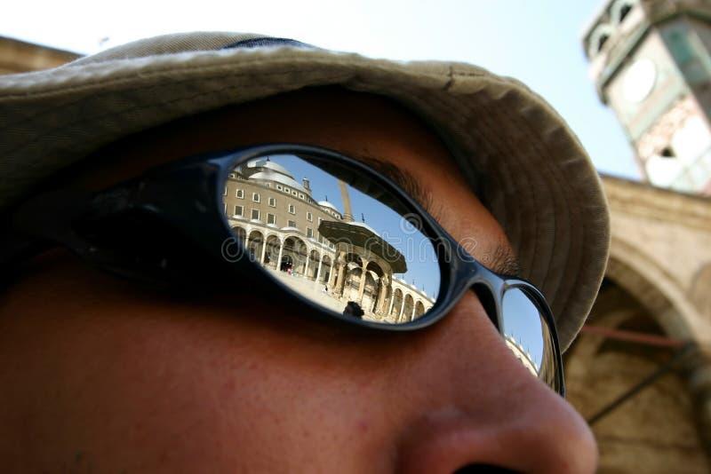 okulary przeciwsłoneczne meczetowi zdjęcie royalty free