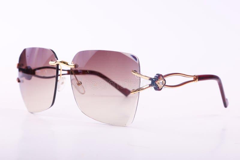 Okulary przeciwsłoneczni dla nowożytnych kobiet fotografia royalty free