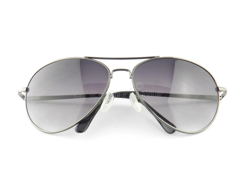 Okulary przeciwsłoneczni odizolowywający na bielu obrazy stock