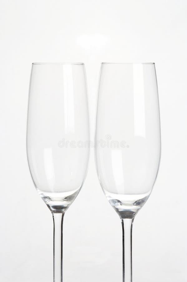 okulary sektglaeser wino musujące obraz royalty free