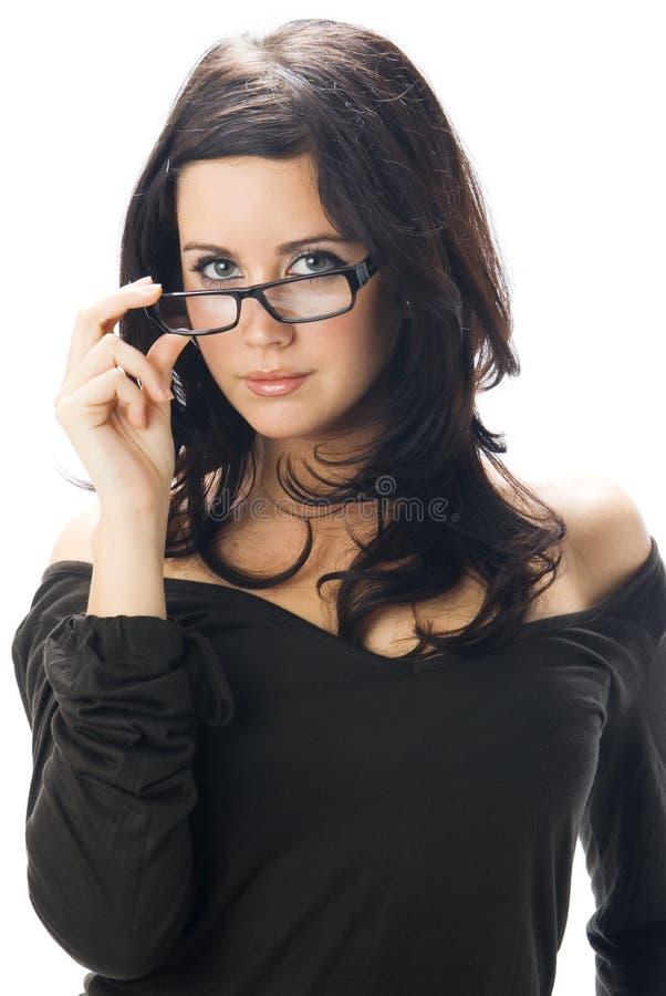 okulary z fotografia royalty free