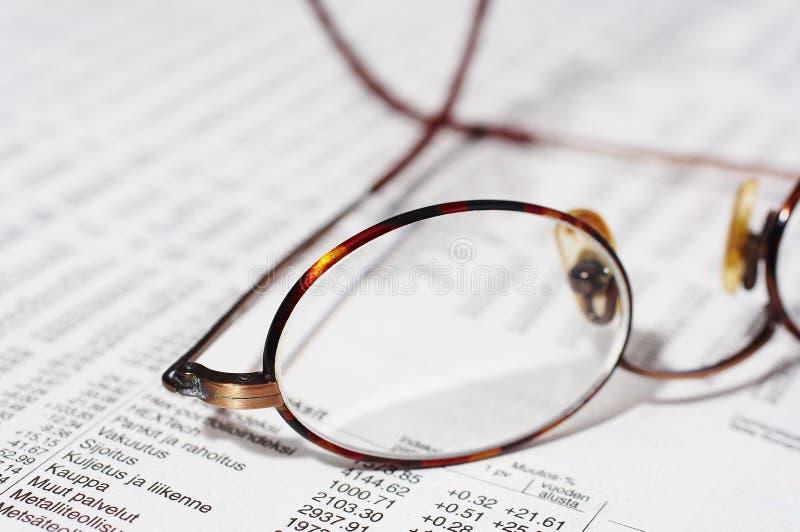 okulary zapasów zdjęcie stock