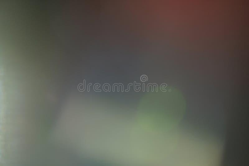 Okulistycznego obiektywu łuny miękkiego światła błyskotania rozmyty real zdjęcia stock