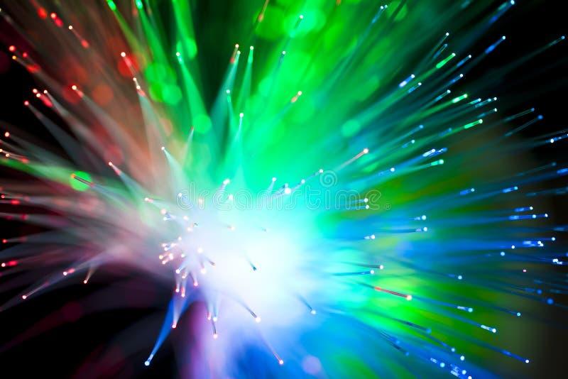 okulistyczny włókna oświetlenie zdjęcie stock