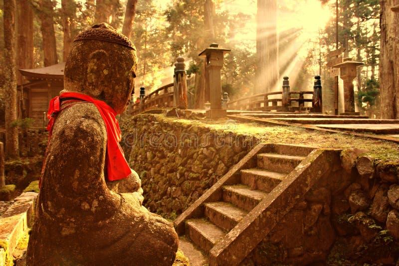okunoin кладбища стоковая фотография rf