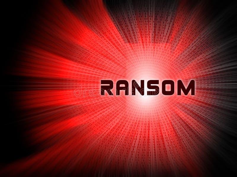 Okupu Komputerowego hackera dane wydarcia 2d ilustracja ilustracja wektor