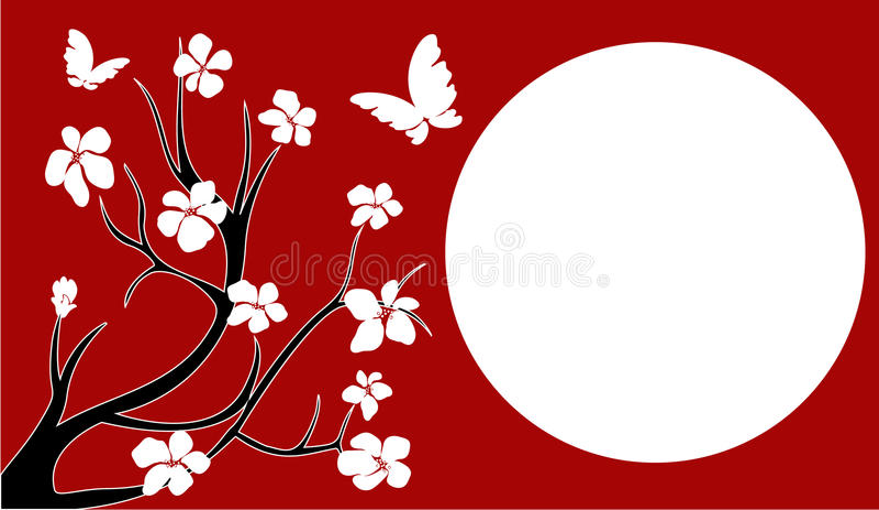 okwitnięcie wiśnia Japan fotografia stock