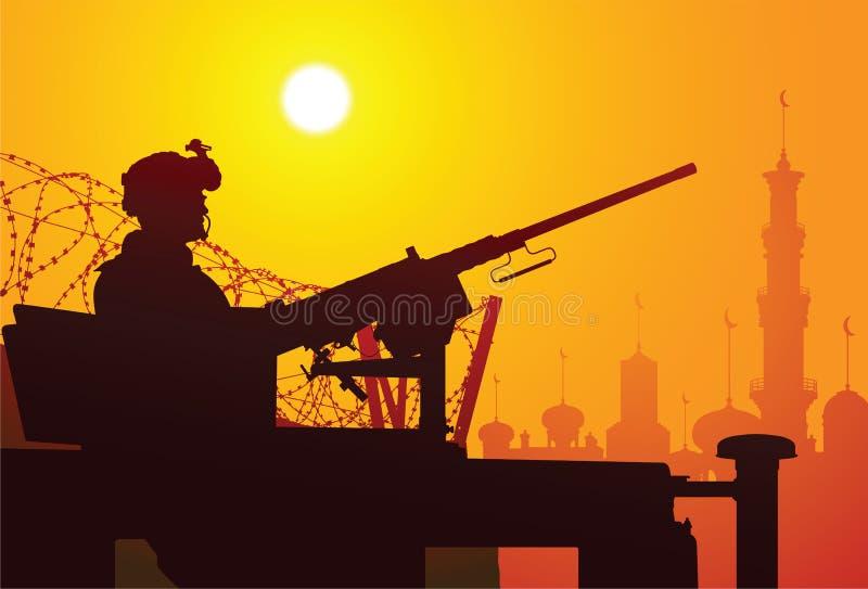 Olá!, Iraque! ilustração royalty free