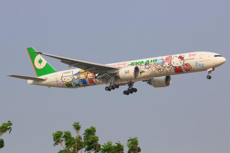 Olá! Kitty EVA Airliners fotos de stock