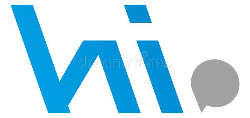 Olá! logotipo ilustração do vetor