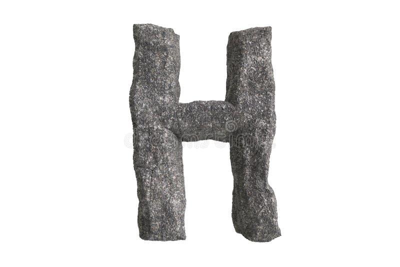 Olá! série de A-Z Stone Texture Text da definição para o tipo até por você ilustração royalty free