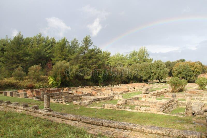 Olímpia, Grécia, imagem de stock royalty free