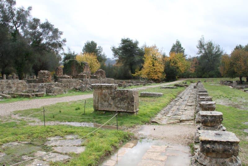 Olímpia, Grécia, foto de stock
