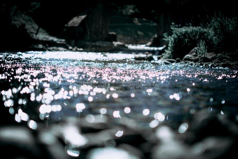 Olśniewająca woda rzeczna zdjęcie royalty free
