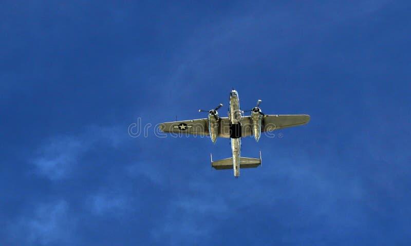 Olśniewający Wojenny ptak przy 2016 EAA AirVenture Airshow fotografia royalty free