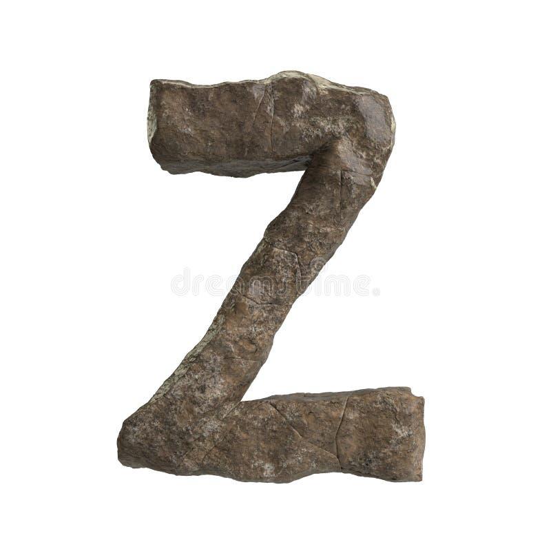 Ol?! s?rie de A-Z Stone Texture Text da defini??o para o tipo at? por voc? ilustração royalty free