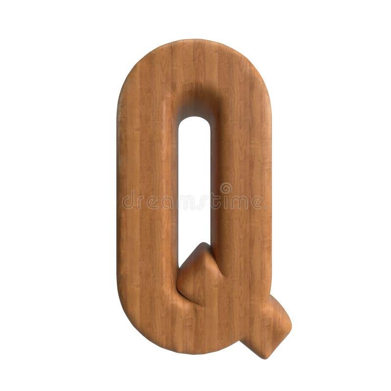 Ol?! s?rie de A-Z Wood Texture Text da defini??o para o tipo perto at? voc? ilustração stock