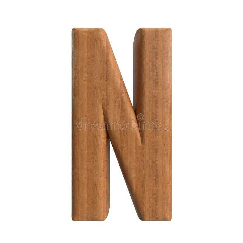 Ol?! s?rie de A-Z Wood Texture Text da defini??o para o tipo perto at? voc? ilustração do vetor