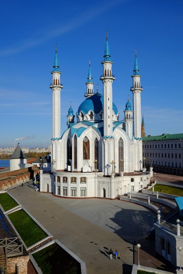 Ol Sharif, Kazan het Kremlin, Kazan Rusland stock foto's