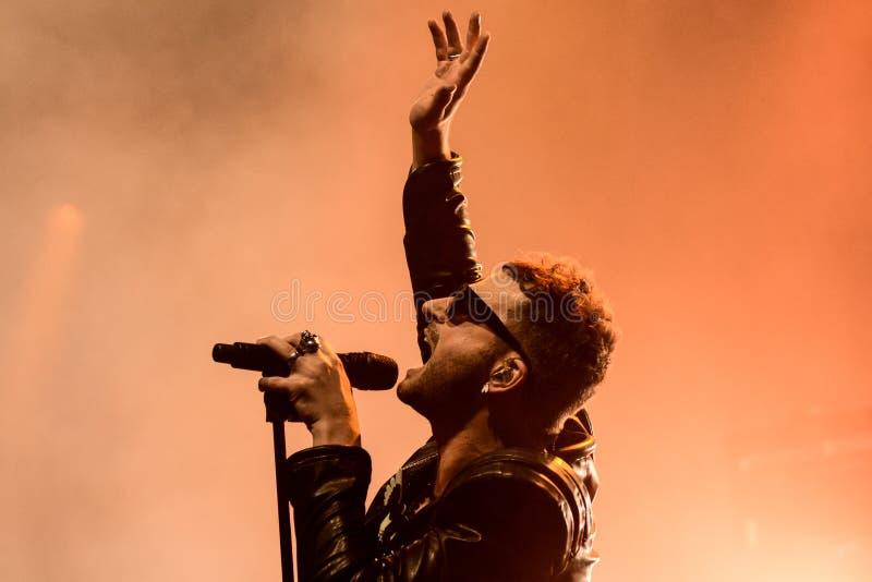Download Ola Salo Jest Szwedzkim Rockowym Piosenkarzem Zdjęcie Stock Editorial - Obraz złożonej z konkurs, grupa: 57655378