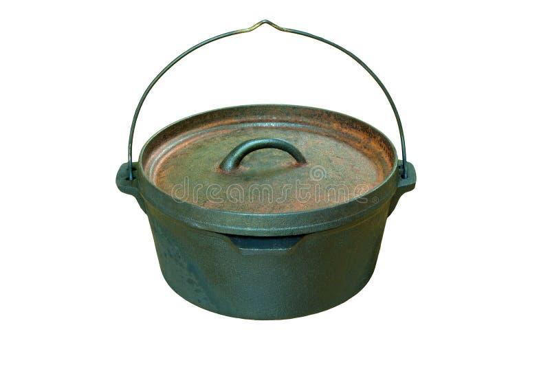 Olandese Oven Casserole Pan fotografie stock