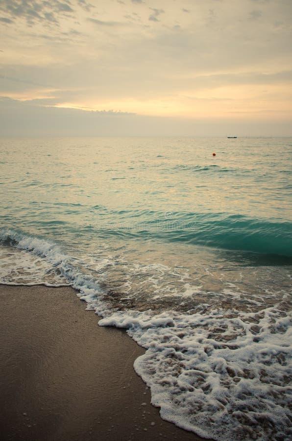 Olas marinas en el Mar Negro fotografía de archivo libre de regalías