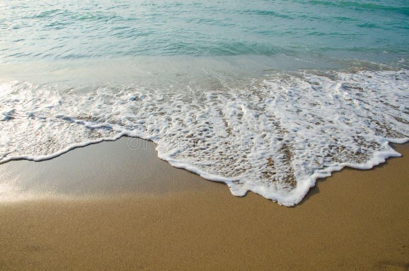Olas marinas en el Mar Negro imagen de archivo libre de regalías