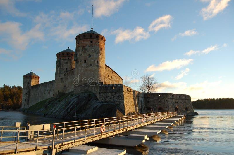 Olavinlinna (3) royalty-vrije stock afbeelding