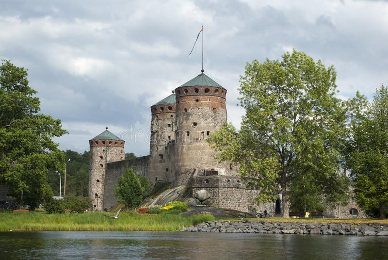 Olavinlinna royalty-vrije stock foto's