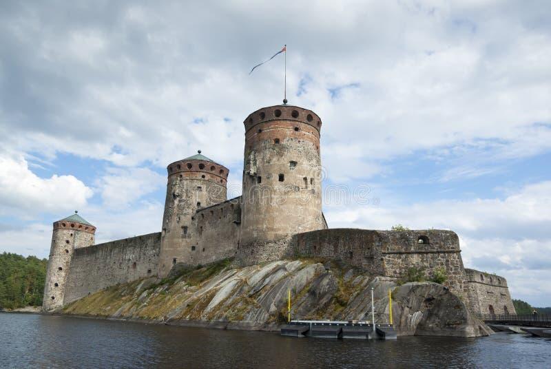Olavinlinna royalty-vrije stock afbeeldingen