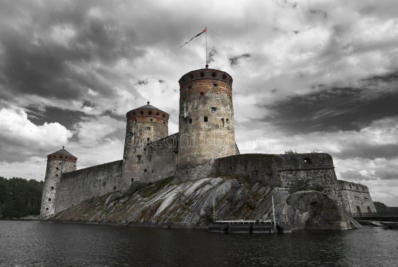 Olavinlinna royalty-vrije stock fotografie