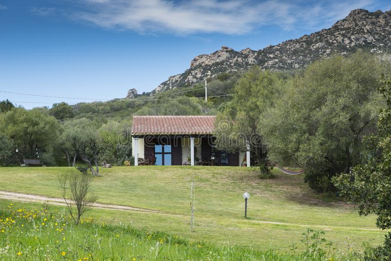 Agriturismo on Sardinia royalty free stock image