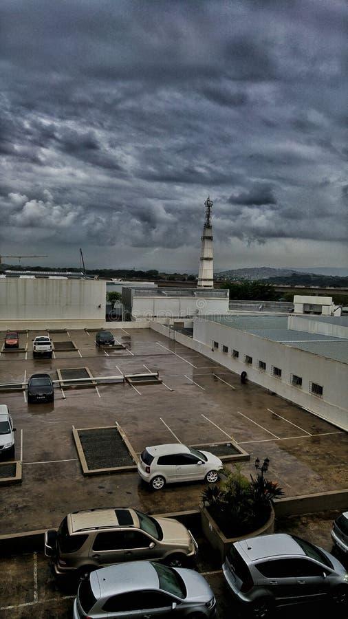 Olbrzymia burza Durban obrazy royalty free