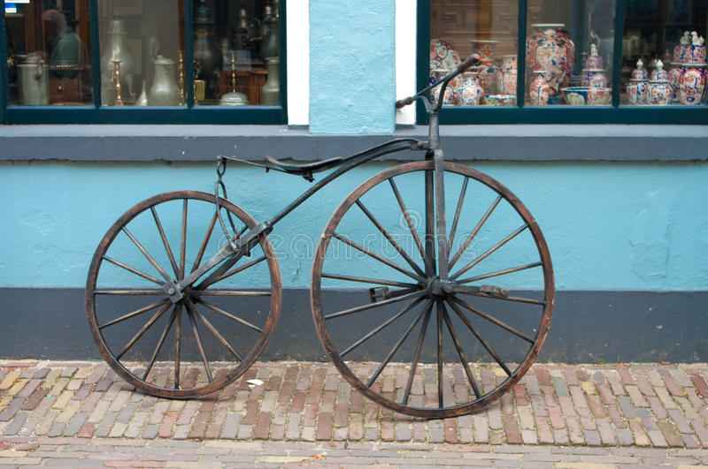Download Old 19th century bicycle stock image. Image of collection - 14352255
