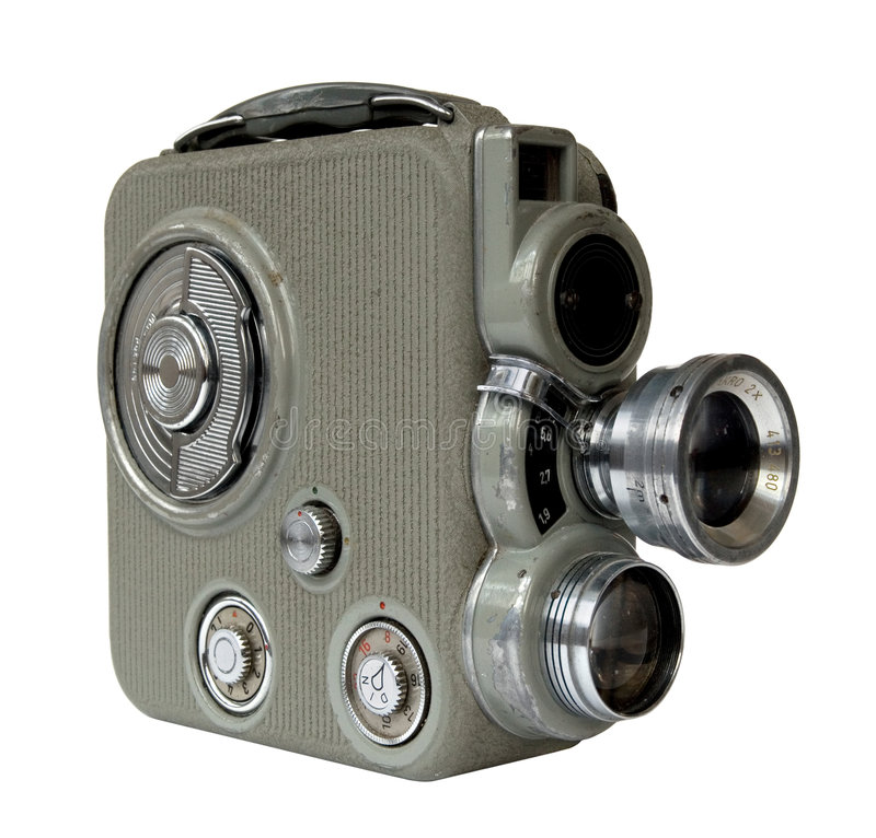 Old 8mm camera stock photos