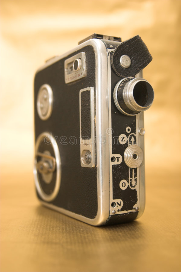 Old 8mm Film Camera royalty free stock photos