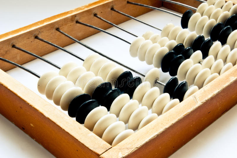 Download Old abacus stock photo. Image of education, mathematics - 24414194